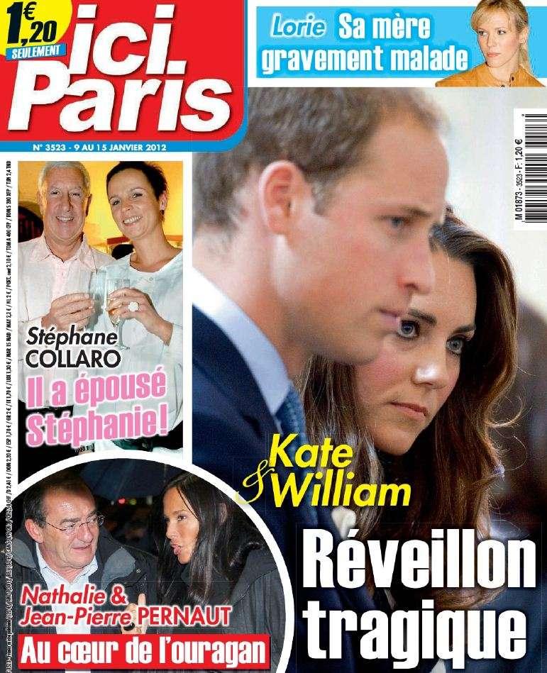 Ici Paris N°3523 du 09 au 15 Janvier 2013