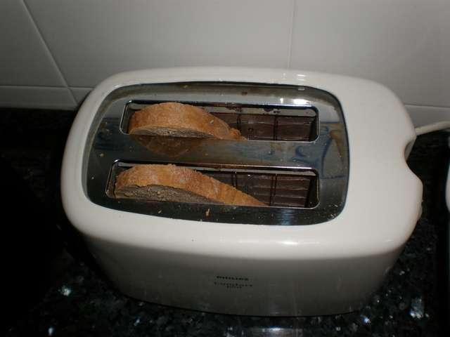 Tostar el pan integral