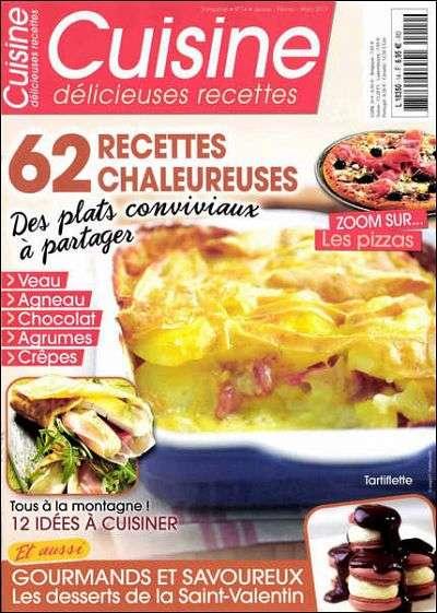 Cuisine Délicieuses Recettes N°14 Janvier à Mars 2013