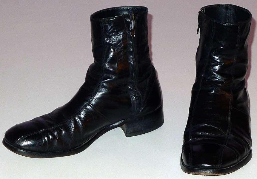 vintage florsheim imperial beatle boots mens size 8 5 wide