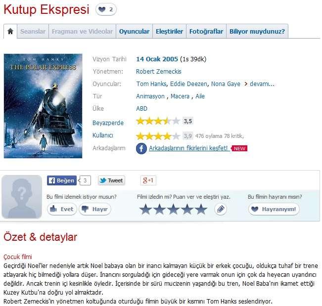 Kutup Ekspresi - 2004 BRRip XviD AC3 - Türkçe Dublaj Tek Link indir