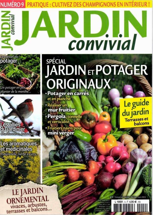 Jardin Convivial N°9  Janvier Février Mars 2013