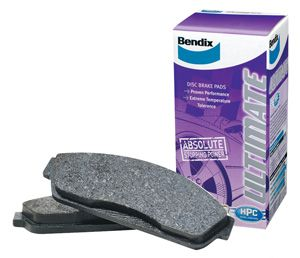 Ford Fairlane ZF PBR 1972-1973 Front Disc Brake Pads BENDIX DB1045-ULT