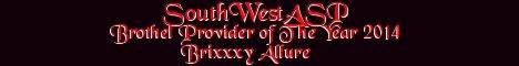 SouthWestASP – Brothel Provider of The Year 2014 – Brixxxy Allure