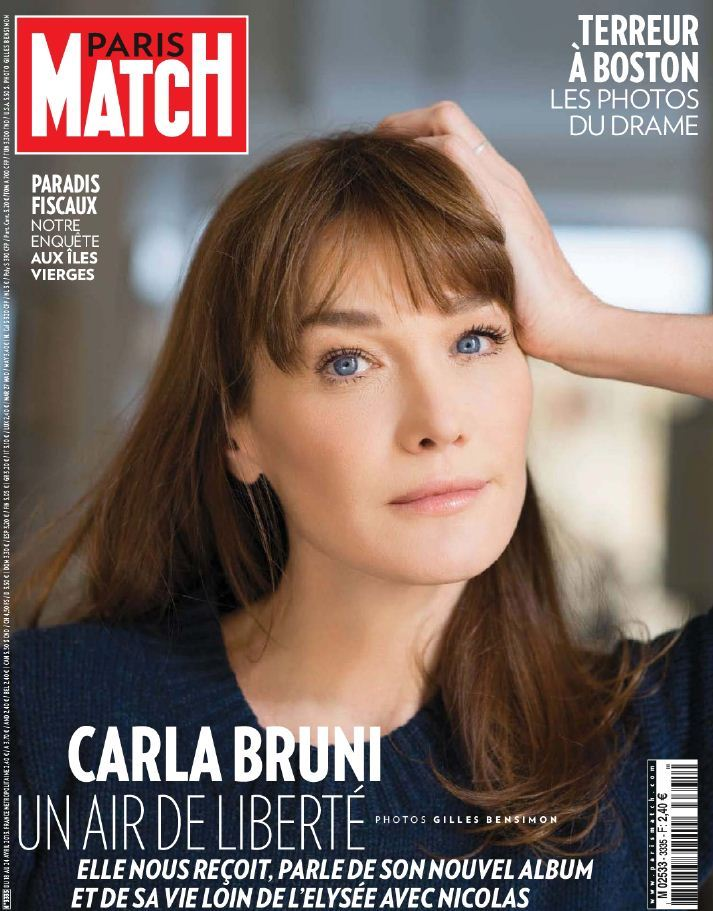 Paris Match N°3335 du 18 au 24 Avril 2013
