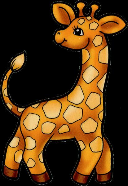 Animales Bebes Animados Gif Animados de Jirafas Bebés