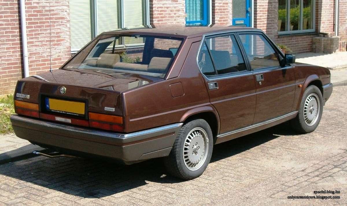 The Car Shack >> Alfa Romeo 90 2.5 V6 Quadrifoglio Oro | Used Daewoo Cars