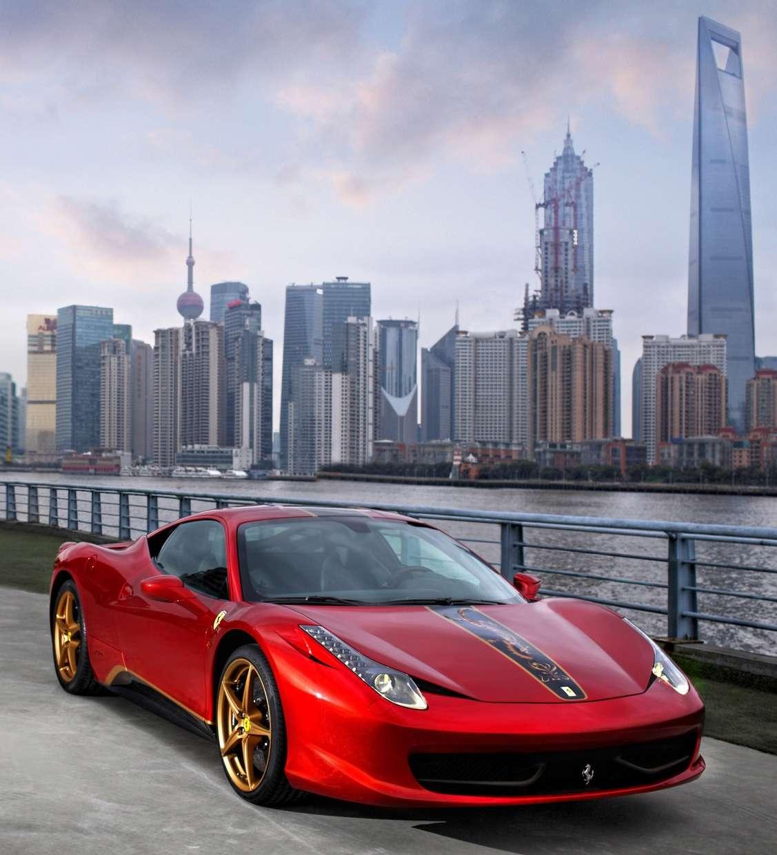 Ferrari 458: Ferrari 458 China Special Edition