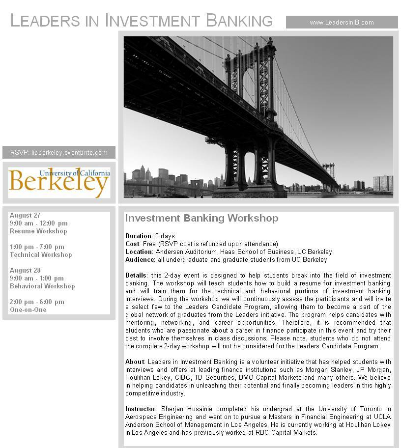 Career In Investment Banking – Dekor